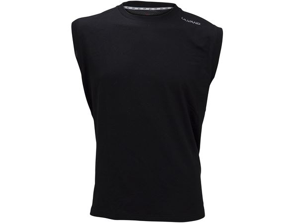 Training Sleeveless Ms Black/High Rise