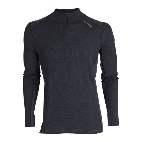 Rav 100% turtle neck w/zip Ms Black/Granite
