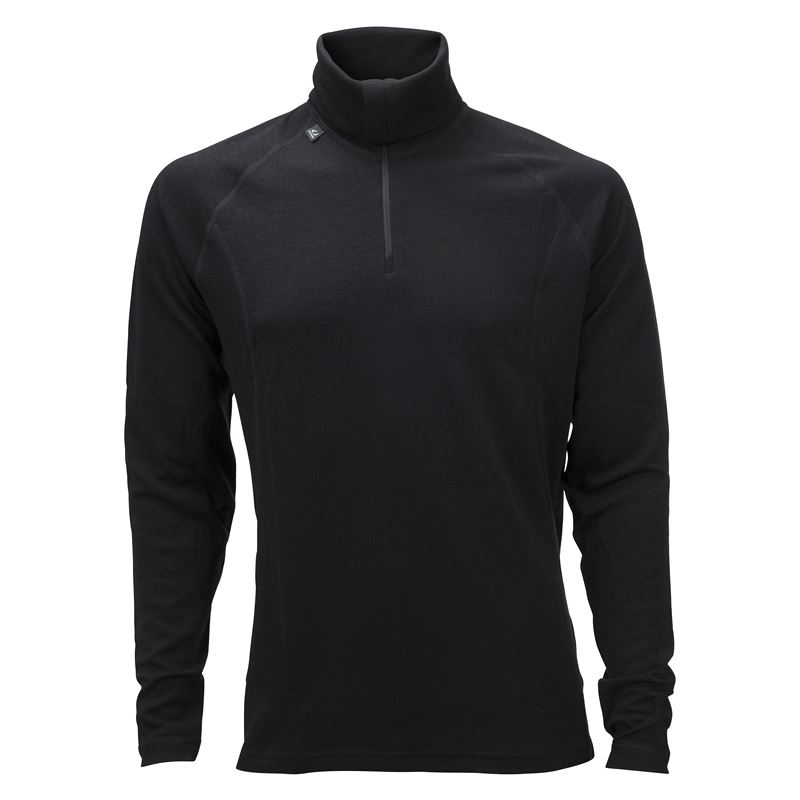 50Fifty 2.0 turtle neck w/zip Ms Black/Black
