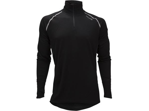 Training turtle neck w/zip Ms Black
