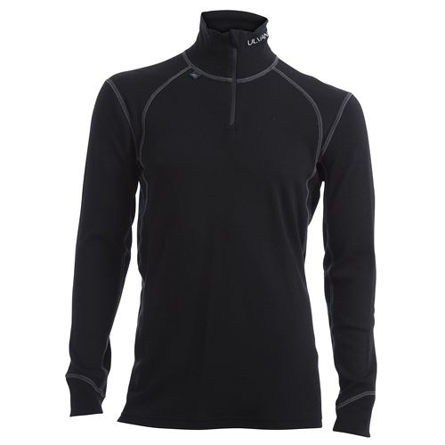 Thermo turtle neck w/zip Ms Black