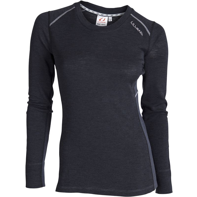 Rav 100% round neck Ws Black/Granite/High Rise