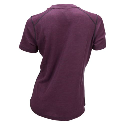 Merino Light Tee Ws Beetroot/Granite