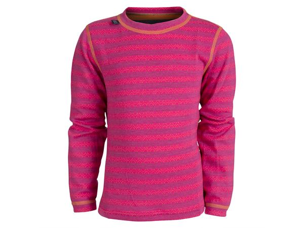 50Fifty 2.0 round neck kids Beetroot Mix