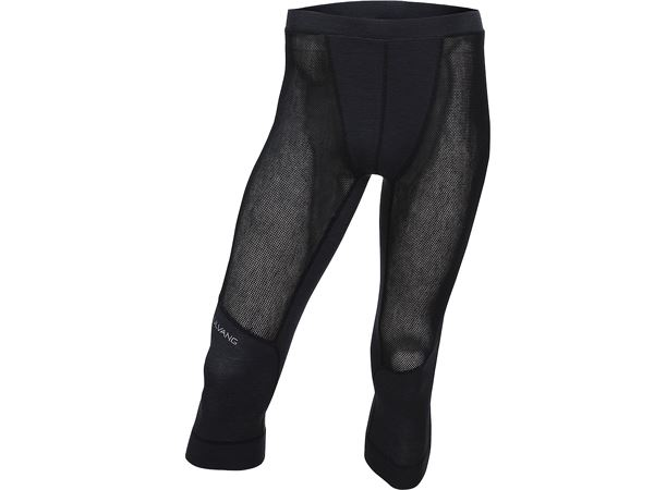 Merino net 3/4 pant Ms Black/Granite