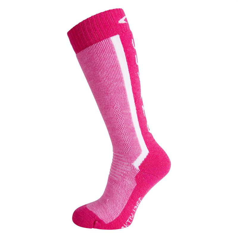 Aktiv knee Jr Virtual Pink/Bright Pink Melange