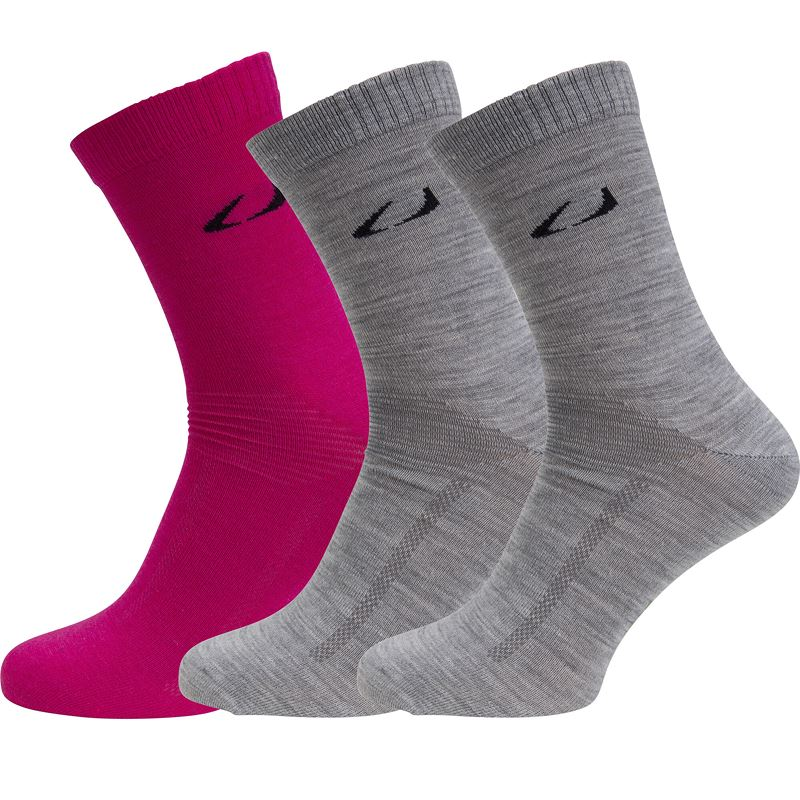 Ulvang Light 3pk Beetroot/Grey melange