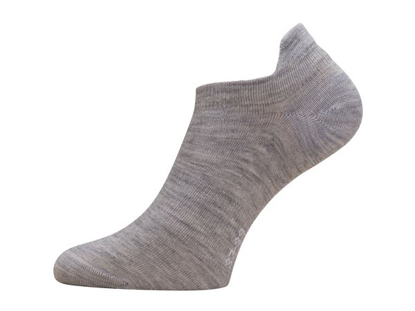 Everyday no show sock 2pk Grey Melange