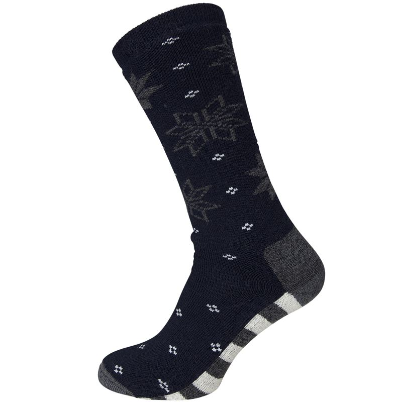 Maristua sock New Navy/Charcoal Melange/Vanilla
