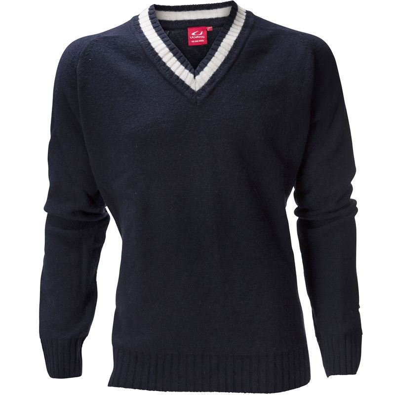 Kongsberg V-neck Ms Dark Navy Melange