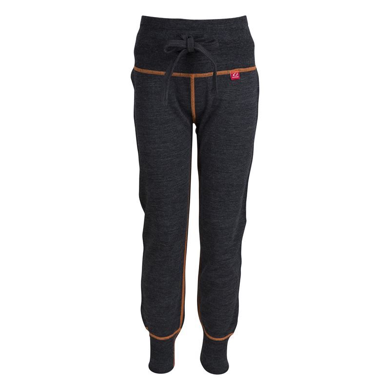 Flint pants Kids Charcoal Melange/Coral Rose