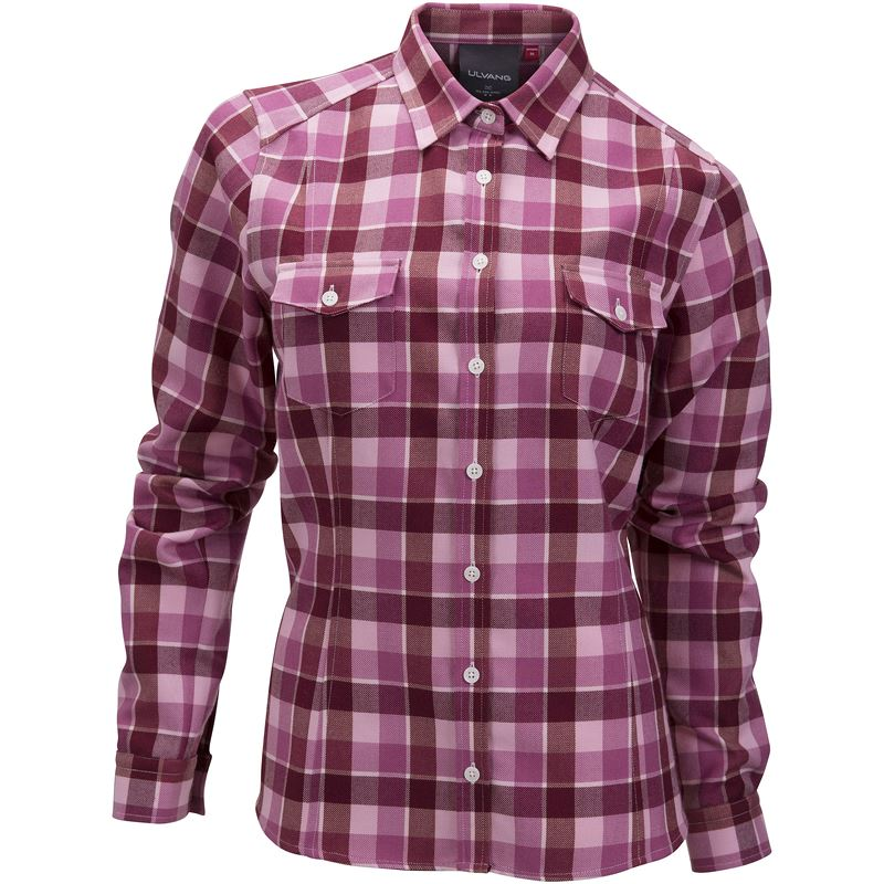 Gjende wool shirt Ws Rhododendron Mix